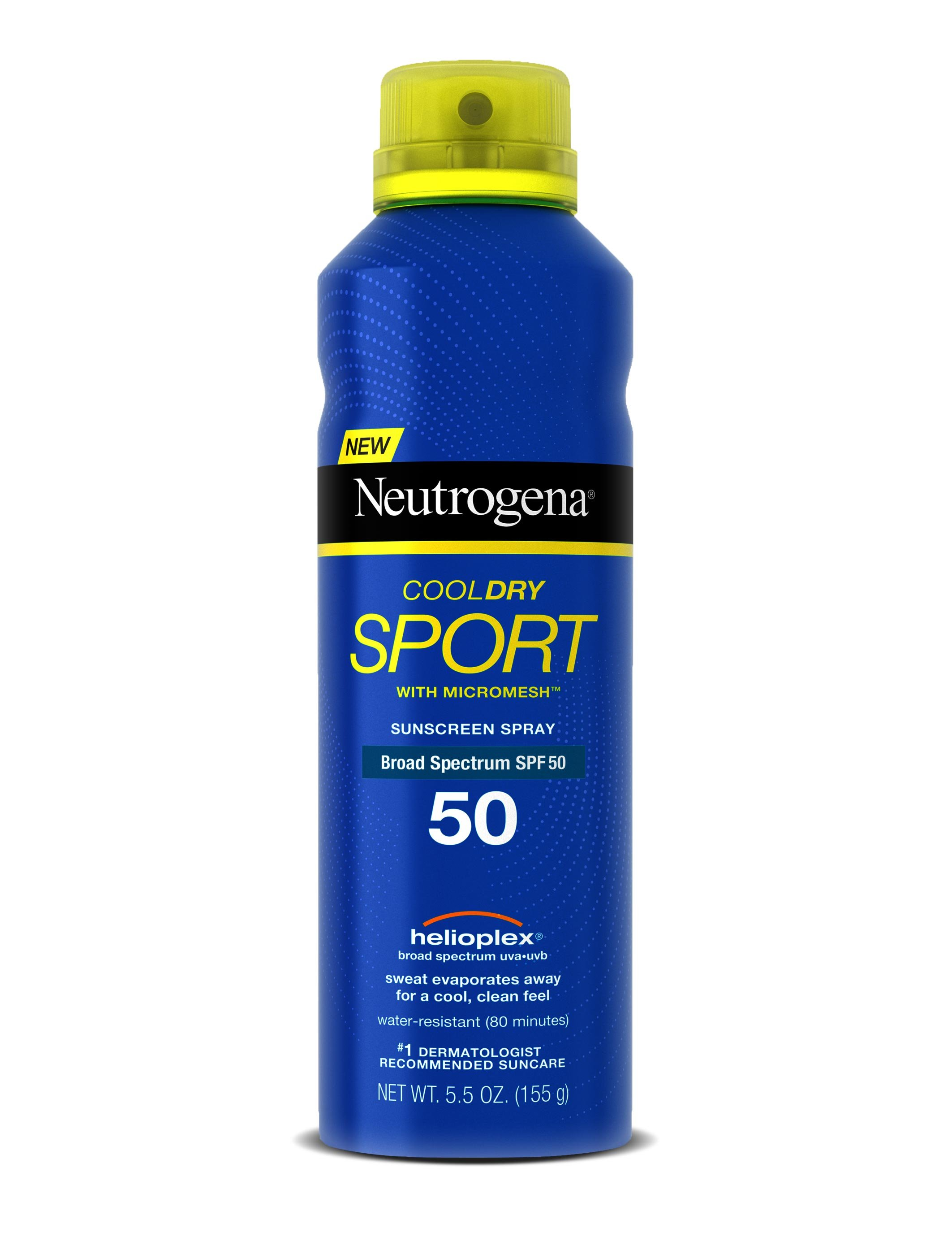 Neutrogena® Cool Dry Sport Sunscreen Spray SPF 50 155g