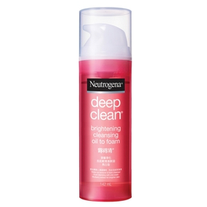 Neutrogena® Deep Clean® Brightening Oil To Foam Cleanser 142ml