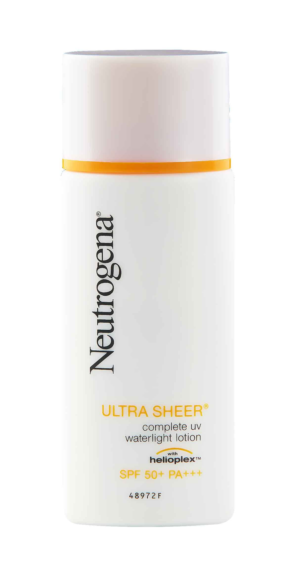 Neutrogena® Ultra Sheer Complete UV Waterlight Lotion SPF50 PA+++ 30ml