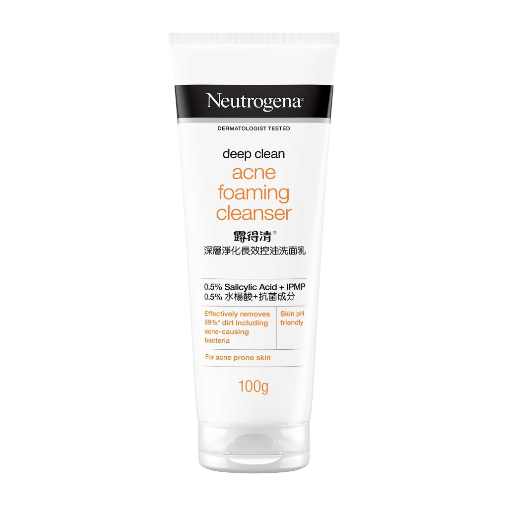 Neutrogena® Deep Clean® Acne Foaming Cleanser 100g