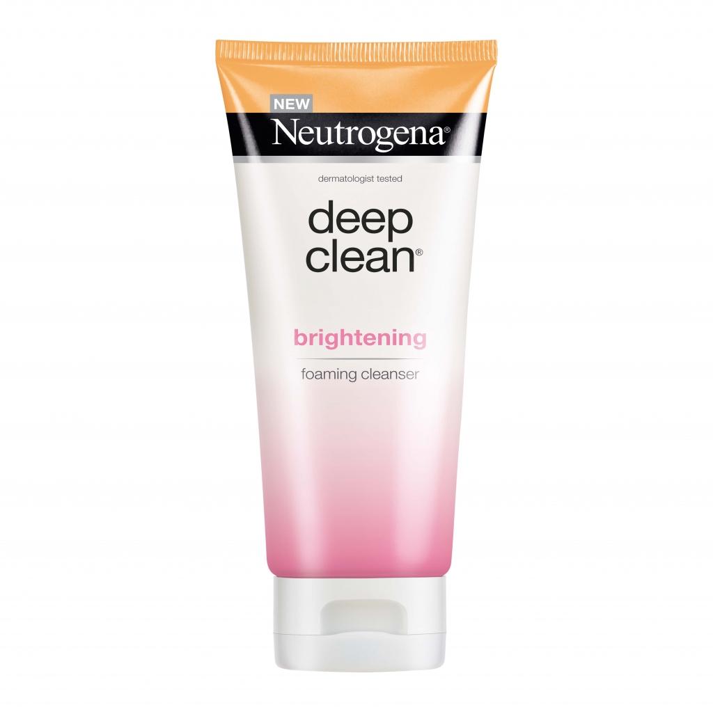 Neutrogena® Deep Clean® Brightening Foaming Cleanser 100g