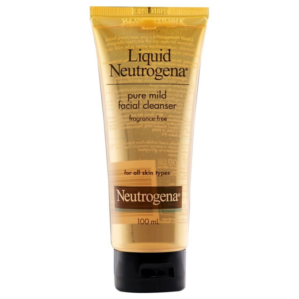 Liquid Neutrogena® Pure Mild Facial Cleanser 100ml