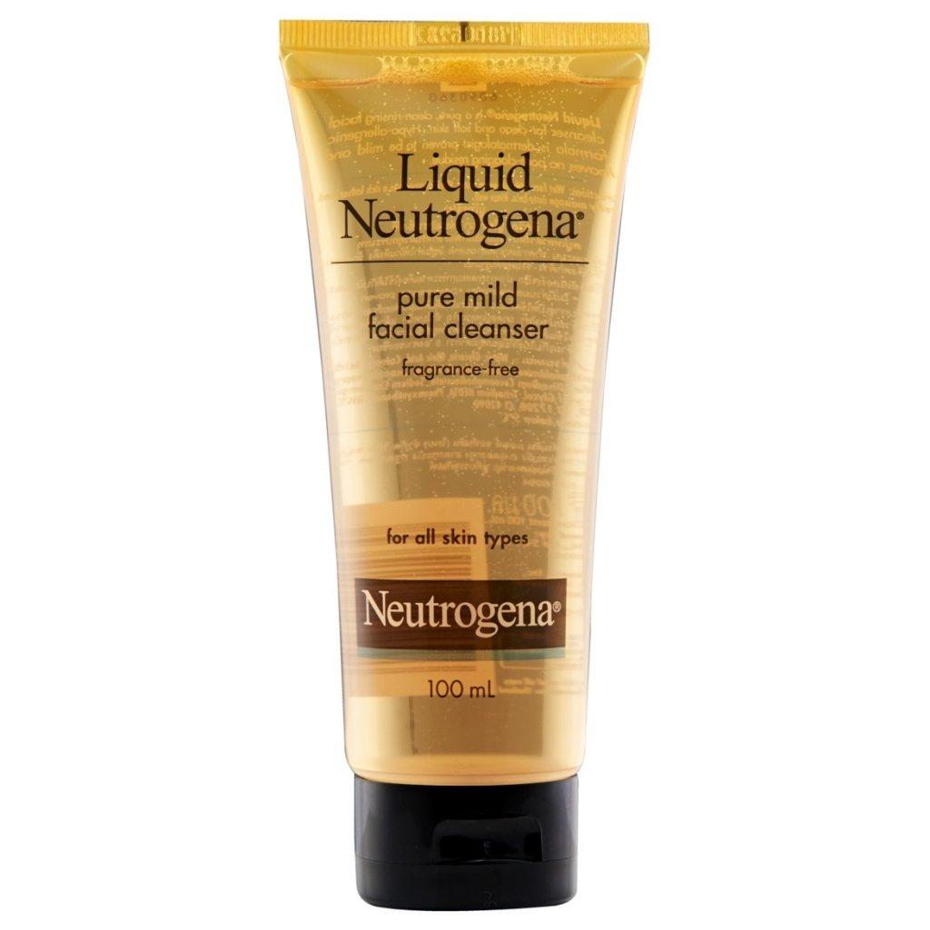 Liquid Neutrogena® Pure Mild Facial Cleanser 100ml