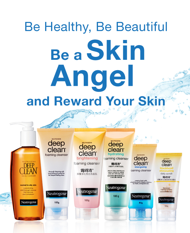 Neutrogena® Be Healthy, Be Beautiful, Be a Skin Angel and Reward Your Skin